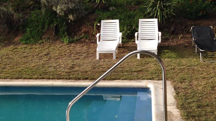 Barandilla para piscinas y puertas del cuarto de bombas for X treme bombas piscinas